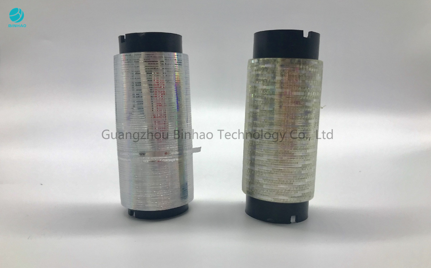 Clear Adhesive Hot Melt Tobacco Tear Tape With Holographic Craft Shiny Gold 10000m Length