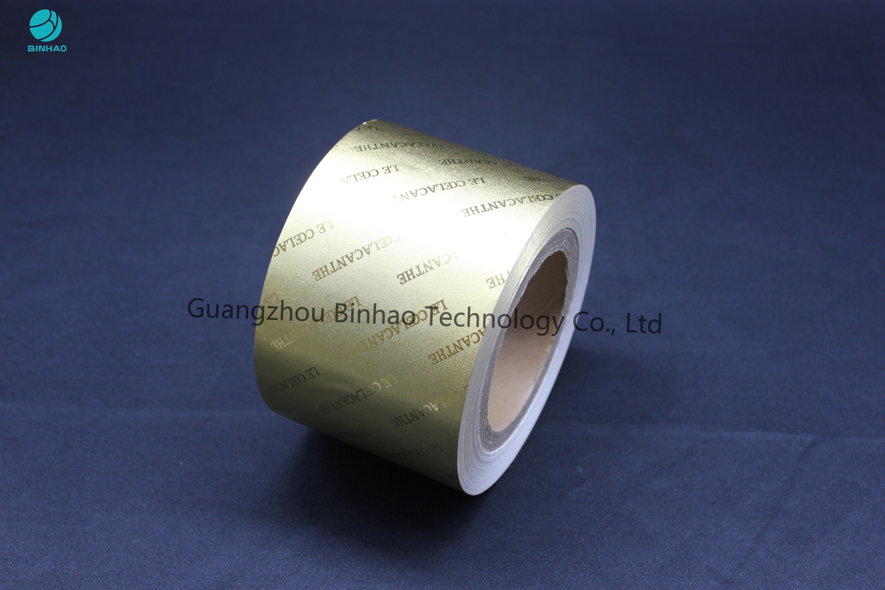 50g Gold Embossing Aluminum Foil Wrapping Paper Brand OEM Can Do With The Authorization